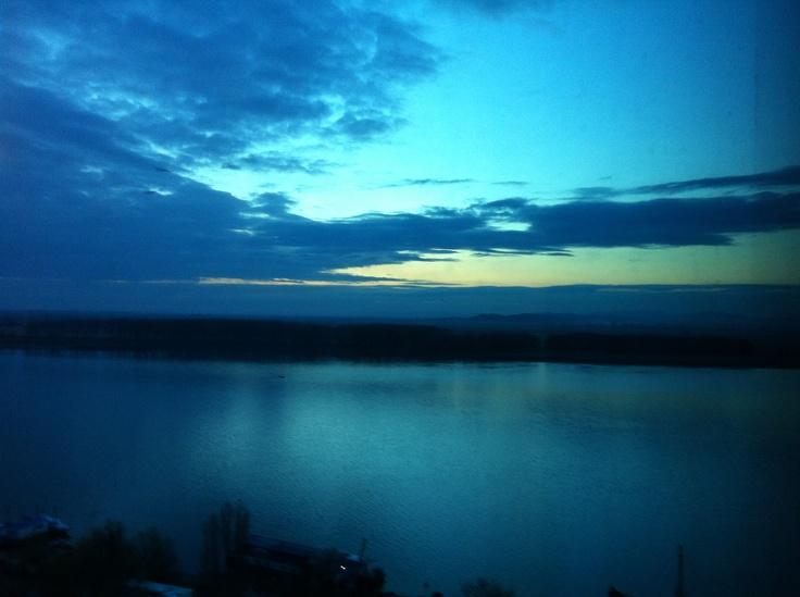 Galati// The Danube// spring