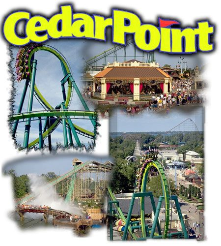 the best amusement park i've ever been to!! cedar point in sandusky, ohio