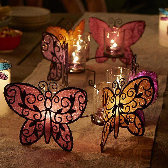 Love Butterflies? Here's a collection for you. Butterfly centerpiece
