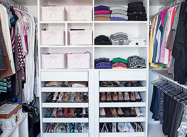 Transforme o seu closet na melhor parte da casa (sem ir à falência)