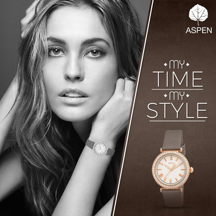 A collection that celebrates the femininity you were born with. #feminineexclusive #aspen #watch