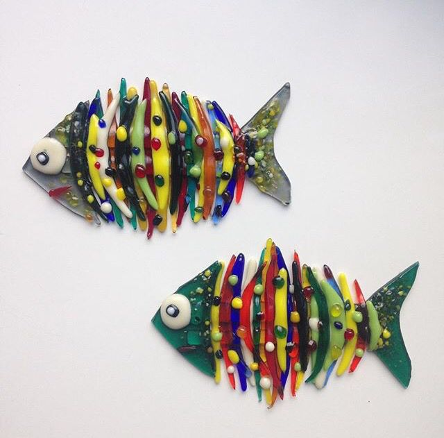 471 best images about fused glass fish on pinterest