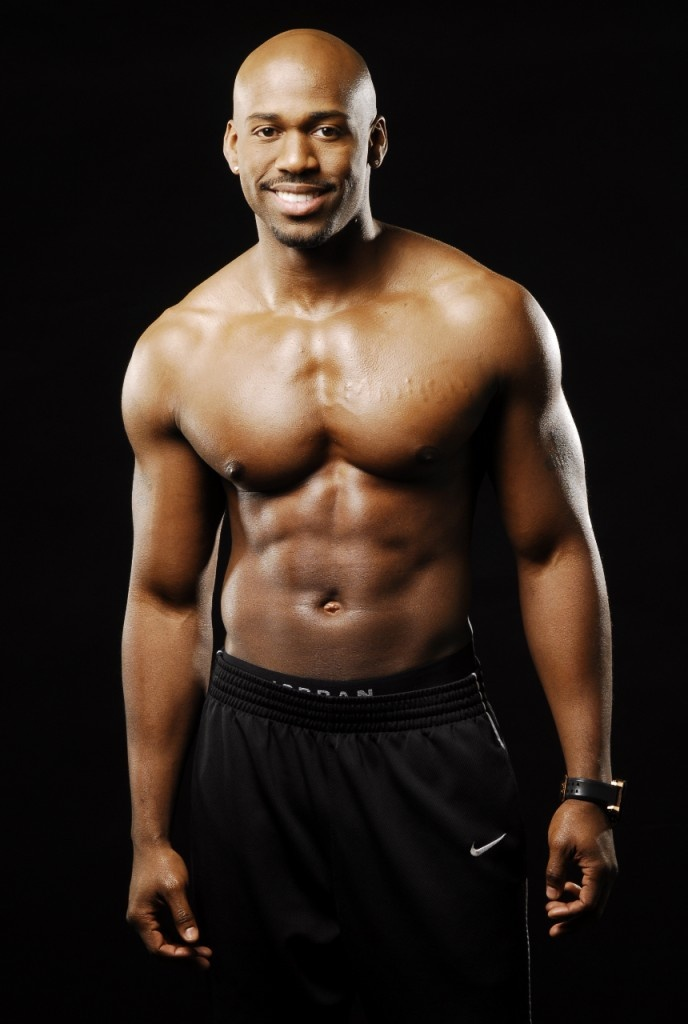 Dolvett Quince.  Very happy he is staying on The Biggest Loser!