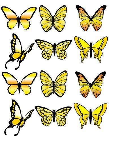PRE-CUT LARGE YELLOW BUTTERFLY EDIBLE RICE / WAFER PAPER CUP CAKE TOPPERS BIRTHDAY PARTY WEDDING DECORATION, http://www.amazon.co.uk/dp/B00EB9LNUW/ref=cm_sw_r_pi_awd_FRapsb1V5XJHE