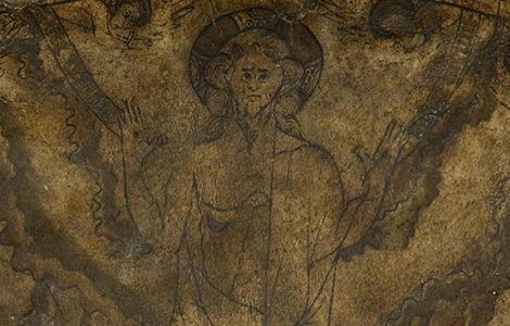 The Hereford Mappa Mundi - Christ in Majesty