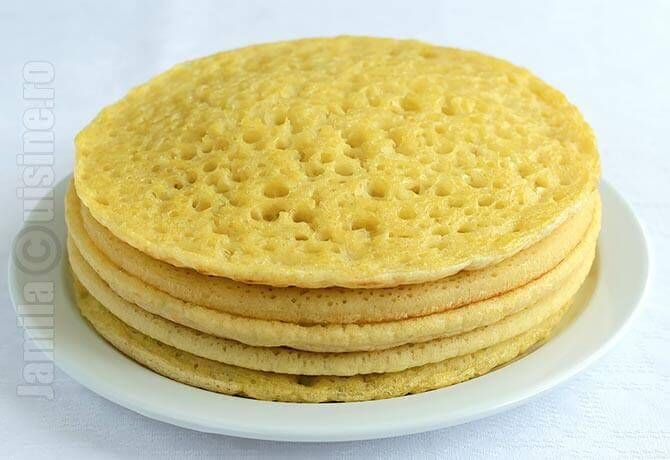 Clatite marocane sau beghrir