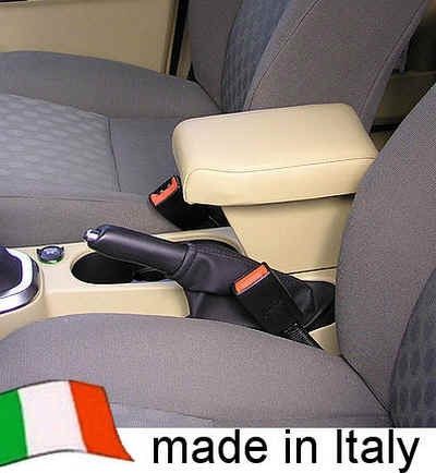FREELANDER 2 (2007-2012) Adjustable Armrest with large storage in alpaca Italian Real leather