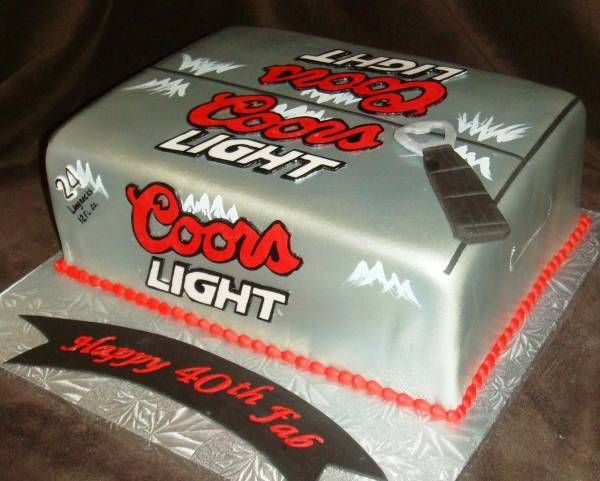 Coors Light Cake ♨ Cakes Cakes Amp More Cakes