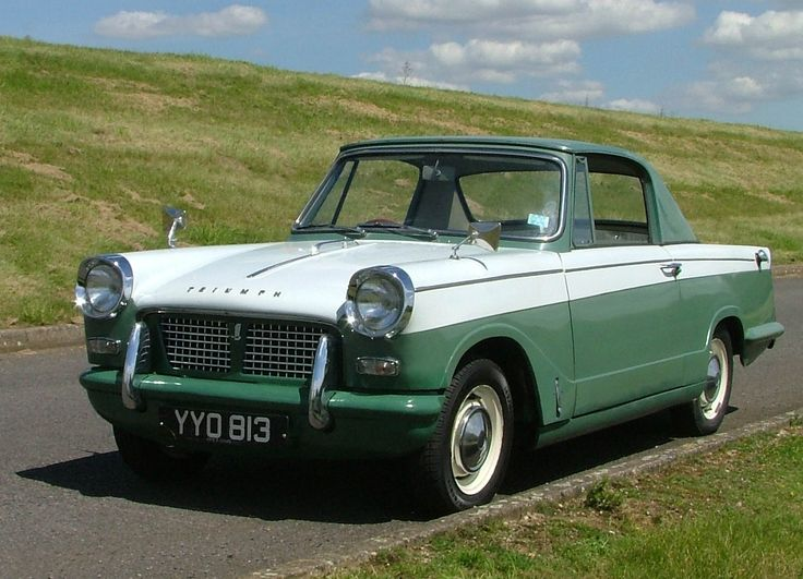 1961 Triumph Herald Maintenance/restoration of old/vintage vehicles: the material for new cogs/casters/gears/pads could be cast polyamide which I (Cast polyamide) can produce. My contact: tatjana.alic@windowslive.com