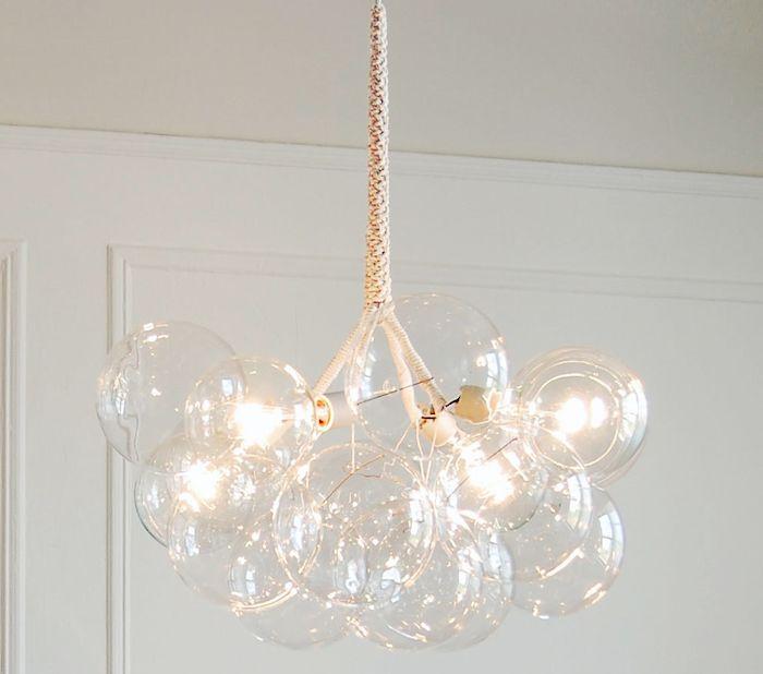 Jean Pelle's DIY Bubble Chandelier, Remodelista. http://www.remodelista.com/products/jean-pelles-bubble-chandelier