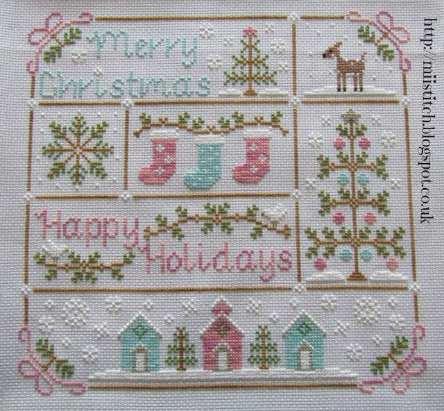 Vintage Christmas - Country Cottage Needleworks