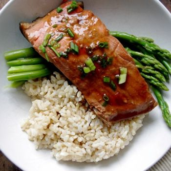 Simple Ginger Soy Poached Salmon | Cooking-Fish & Seafood | Pinterest