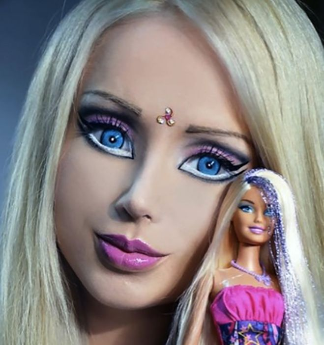 human barbie eyes