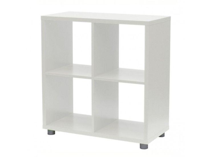 Regał Box biały — Regały Tenzo — sfmeble.pl