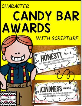 This pack includes 35 Character Candy Bar Awards! These are perfect for the end of the year or to use throughout the year!Grab the matching set of certificates HERE!Character Awards {With Scripture}Character Traits Included:KINDNESSACCEPTANCE COURAGEGENEROUSPEACEMAKERHUMBLEPRAYERFULSERVANTS…