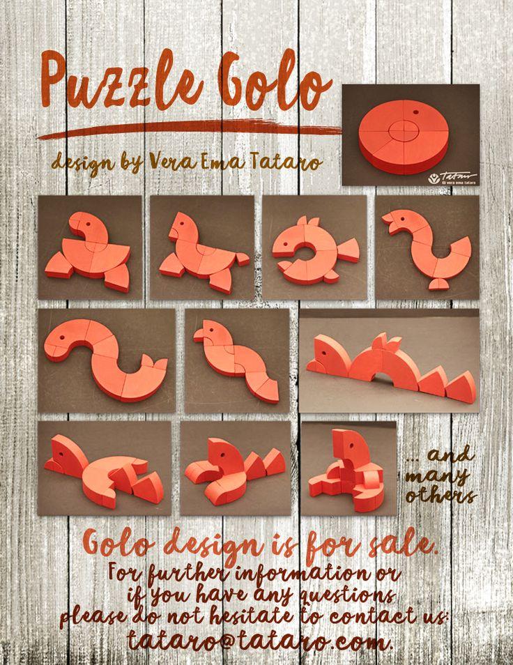 Puzzle Golo - design by Vera Ema Tataro