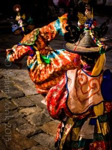 Black Hat Dancers of Bumthang, Bhutan.