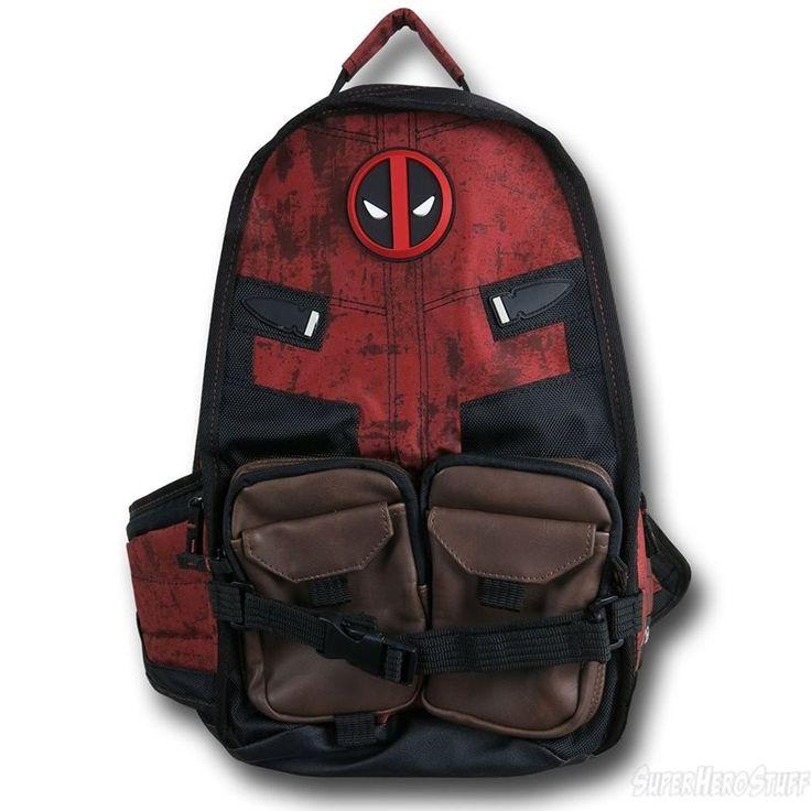 Deadpool Symbol Laptop Backpack