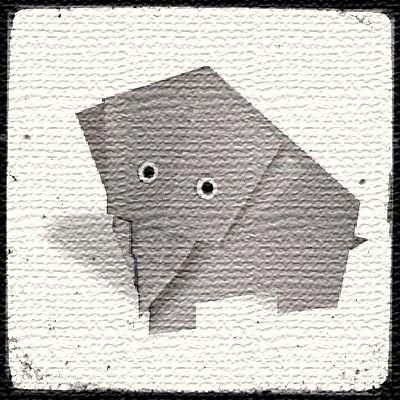 Оригами Слон