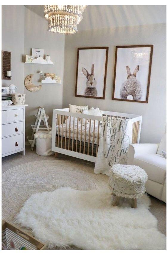 6 Adorable Bunny Themed Nurseries Alphadorable Custom Nursery Art And Decor In 2021 Baby Room Themes Baby Nursery Inspiration Modern Baby Room