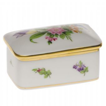 Herend Rectangular Box http://www.continentaltablesettings.com/