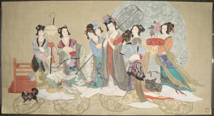Traditional japanese painting google search japanese for Japanese watercolor paintings