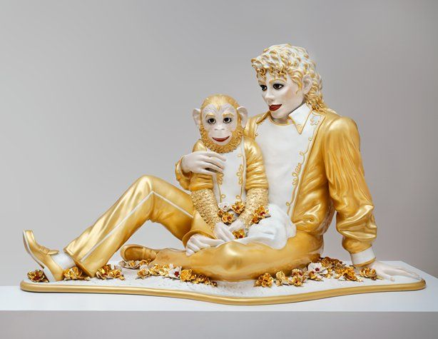 SFMOMA | Explore Modern Art | Our Collection | Jeff Koons | Michael Jackson and Bubbles