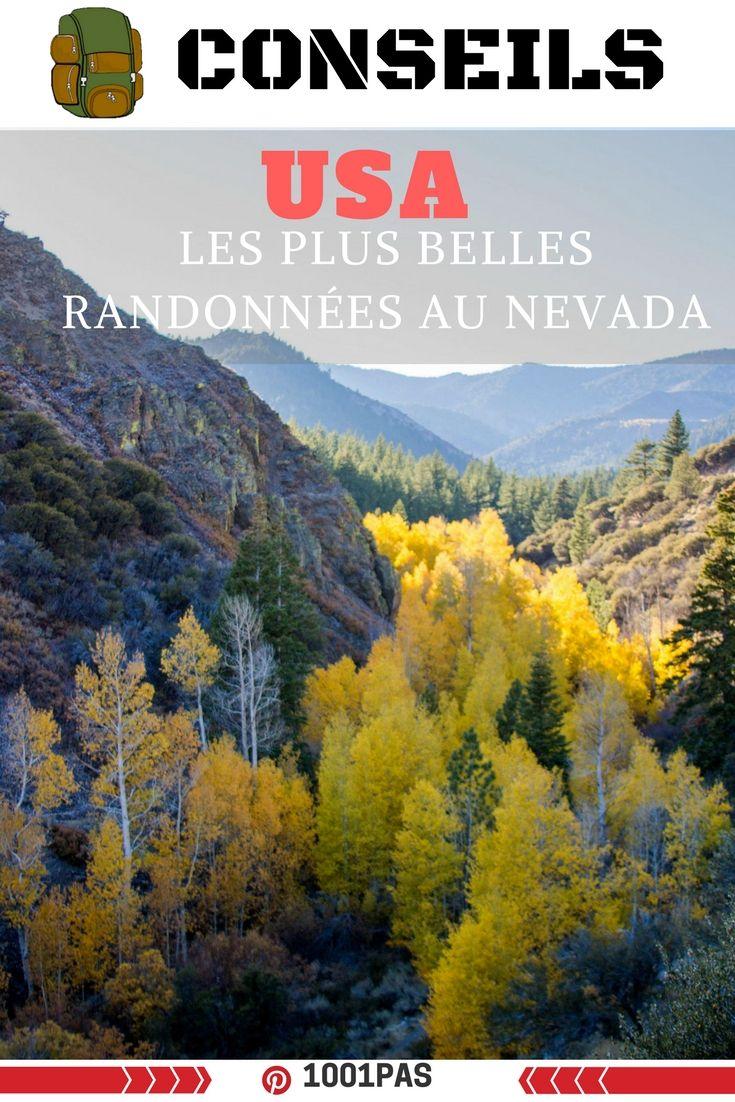 Les plus belles randonnées au Nevada --- Les randonnées à réaliser au USA, dans l'état du Nevada lorsque vous n'êtes pas loin de las vegas. Trek non loin de Las Vegas