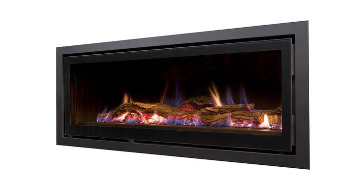 Seamless Landscape Gas Fireplace   Heatmaster