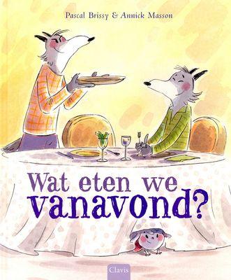 De stoere wolven Raymond en Marcel hebben honger, maar er is bijna niets meer in huis. Dan staat er plotseling een klein, schattig lammetje voor de deur. Prentenboek met lijntekeningen in zachte kleuren. Vanaf ca. 5 jaar.