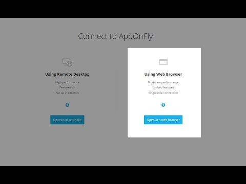 #Apponfly #Cloud #HowTo #WebBrowse