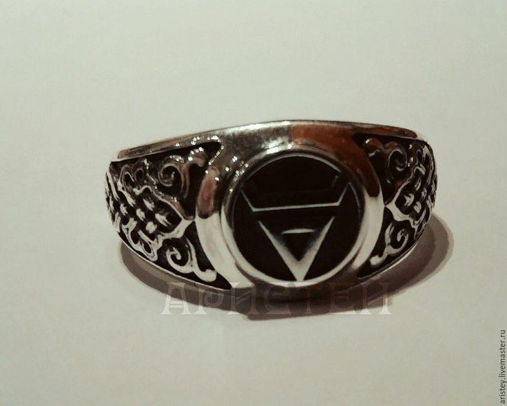 """Купить кольцо """"Знак Велеса"""" - серебряный, знак велеса, велес, славянский стиль, кольцо, перстень"""
