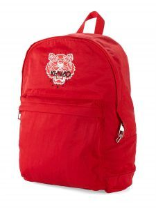 Sac à dos rouge avec logo tigre de Kenzo #sac #kenzo #tigre