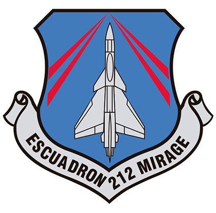 Parche de vuelo del Equipo M-5 COA, actualmente dado de baja del servicio