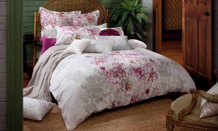Peony Bed Linen by Kas from Harvey Norman NewZealand