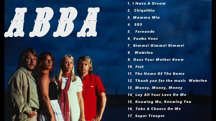 ABBA GOLD GREATEST HITS - ABBA TOP HITS