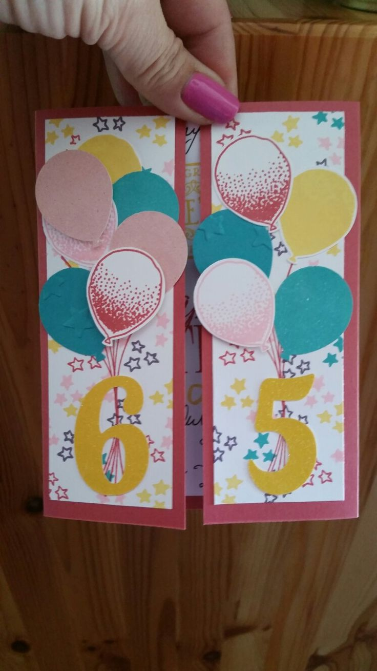Download 65th birthday card turning 65 happy 65th birthday friend - Download 65th Birthday Turning 65 Happy By Blessinganother On Etsy Balloon Celebration Stamp In Up My Mom S 65th Birthday Card