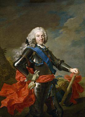 Felipe V de España, llamado «el Animoso» (Versalles, 19 de diciembre de 1683-Madrid, 9 de julio de 1746)