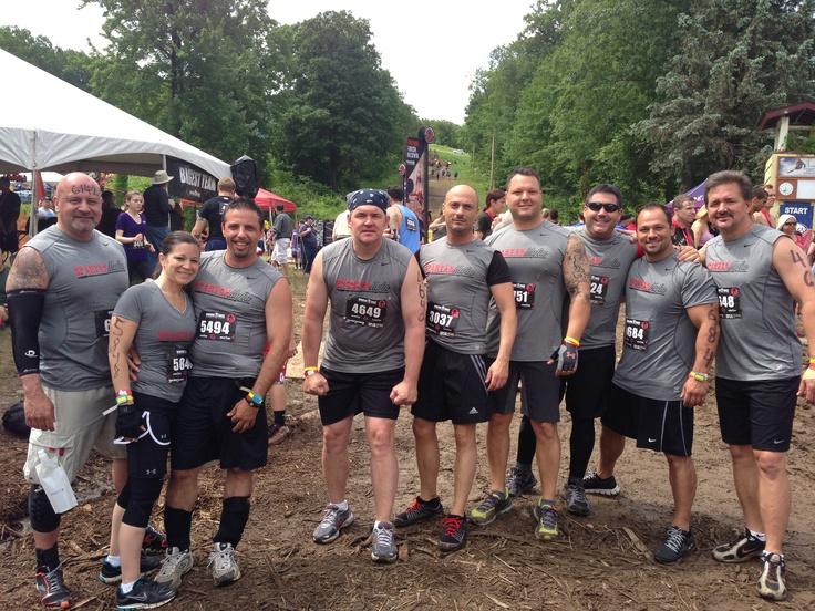 Spartan race, Tuxedo NY - 6/8/13