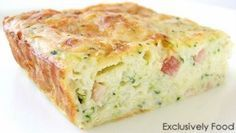 Zucchini slice - I've made it several times and it is so good, easy, and healthy. I've used almond flour and spelt flour before with good results. I also like to use feta instead of cheddar