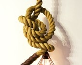 "Atelier 688 original Manila Rope Lights (2"" diameter). $450.00, via Etsy."