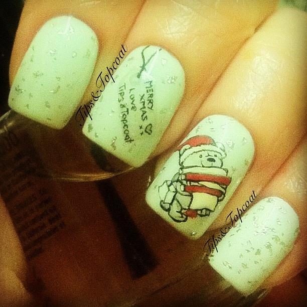 29 best nails images on Pinterest | Uñas de navidad, Arte de uñas y ...