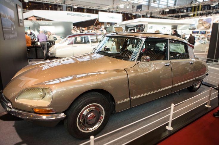 Citroën DS20 Pallas (1969-1965) : Salon Rétromobile 2015: les plus belles voitures de collection - Linternaute.com Automobile