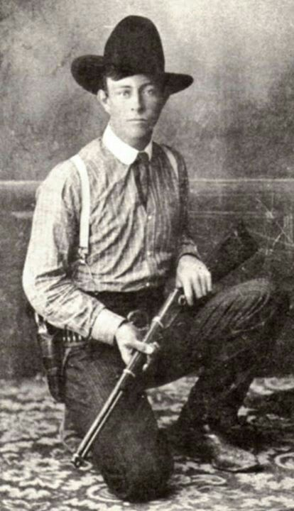 Lawman Frank Hamer when he was a 24-year old City Marshal in Navasota, Texas.  He would gain fame years later as the Texas Ranger who got Bonnie and Clyde.