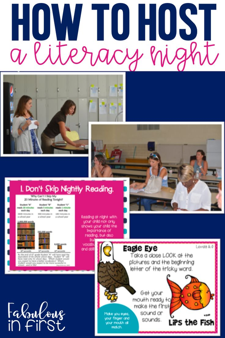 Interested In Hosting A Literacy Night Here Are Some Tips On How To  Successfully Teach