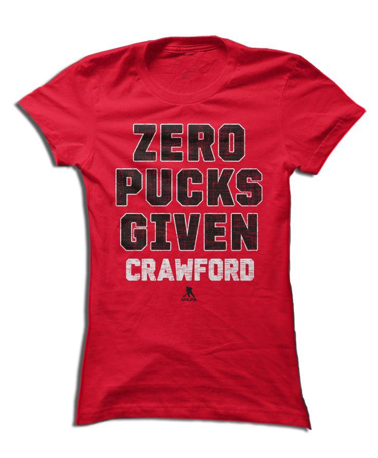 Corey Crawford - Zero Pucks Given