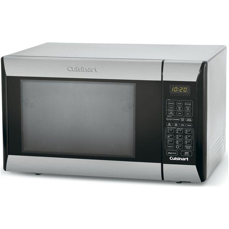 white cuisinart toaster oven broiler