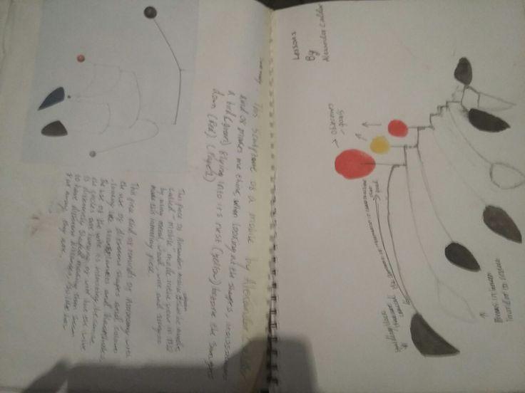 Sketchbook pages 2-3