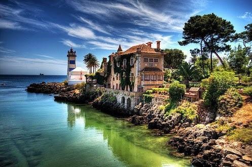 Cascais - a gorgeous little coastal town in Portugal. Photo by Joel Jackson on Google+