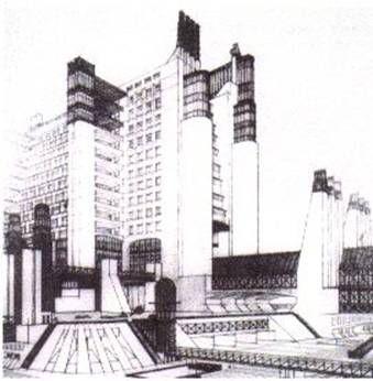 La ciudad del futuro de Antonio de Sant'Elia (1914).